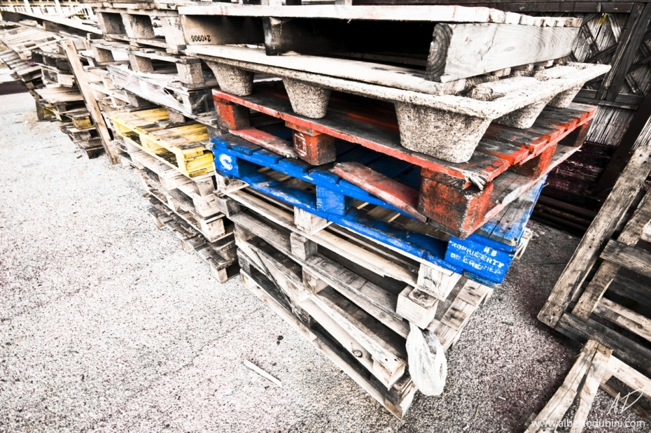 Pallets on Dock